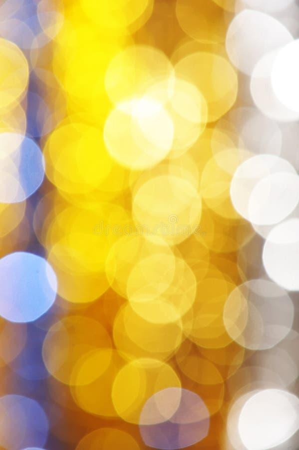 Defocused Leuchte lizenzfreie stockfotografie