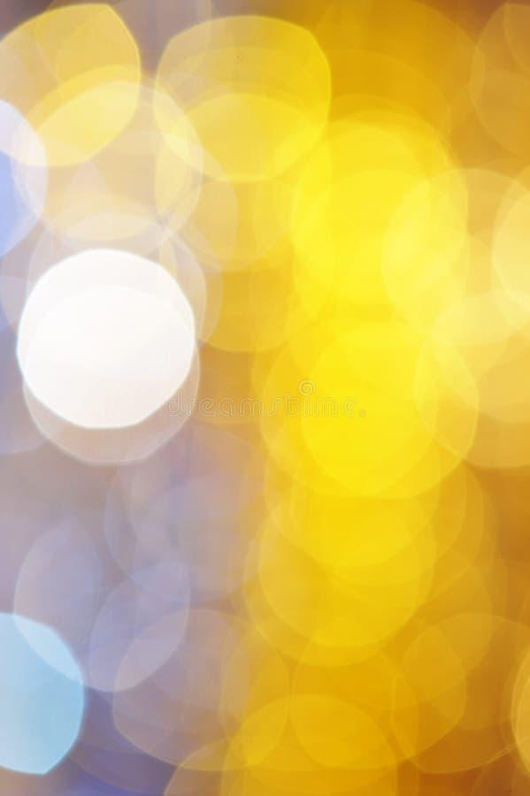 Defocused Leuchte lizenzfreie stockbilder