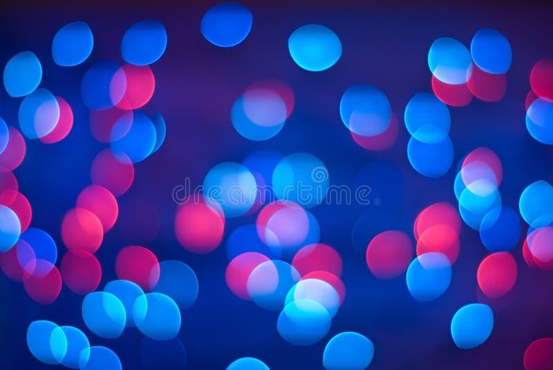 Defocused lights. royalty free stock images