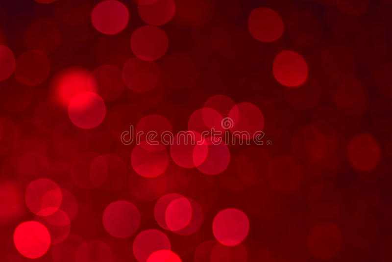 Defocused lights background. Red color royalty free stock photos