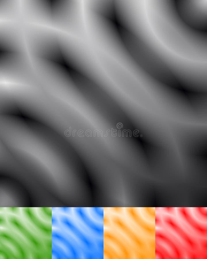 Defocused urblekt monokrom modell/textur Abstrakta op-konst lodisar stock illustrationer