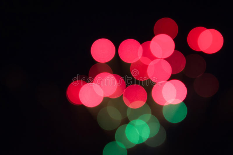 Defocused wizerunek fajerwerki, bokeh tło zdjęcie royalty free