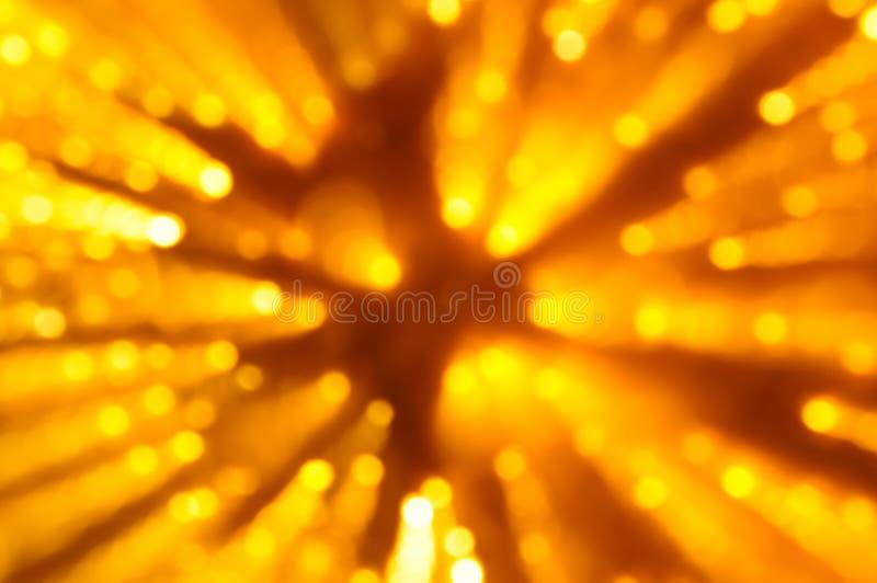 defocused yellow för abstrakt bakgrundsjul royaltyfri foto