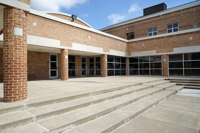 DeFranco szkoła podstawowa w Bangor Pennsylwania obraz stock