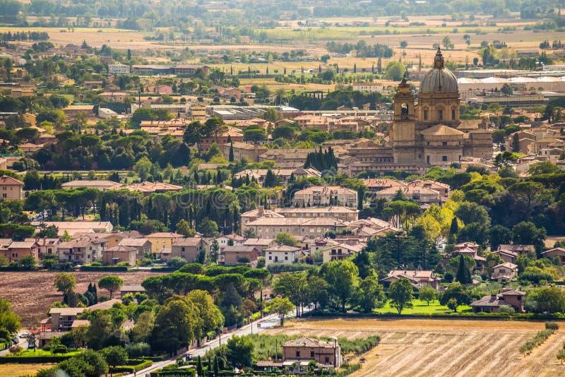 Degli της Σάντα Μαρία Angeli - Assisi, Ουμβρία, Ιταλία στοκ εικόνες