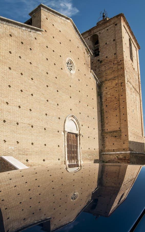 Degli Angeli, Penne, Pescara, Abruzzo, Ιταλία της Beata Vergine Maria Regina della Duomo στοκ εικόνες με δικαίωμα ελεύθερης χρήσης