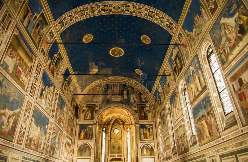 Degli Scrovegni de Cappella de chapelle de Scrovegni à Padoue, Italie images stock