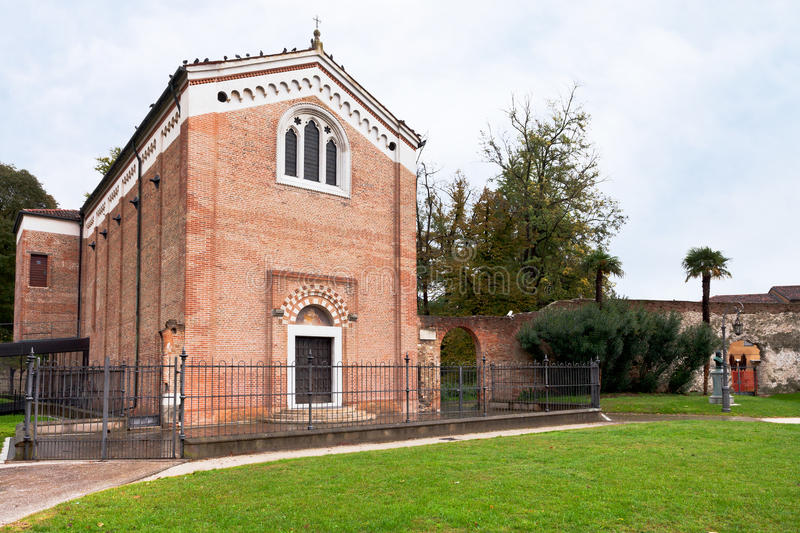 Degli Scrovegni de Cappella en Padua imagen de archivo