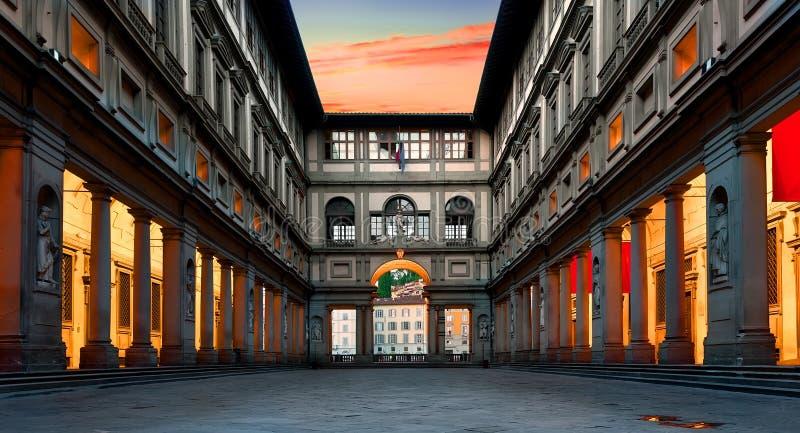 Degli Uffizi de Piazzale imágenes de archivo libres de regalías