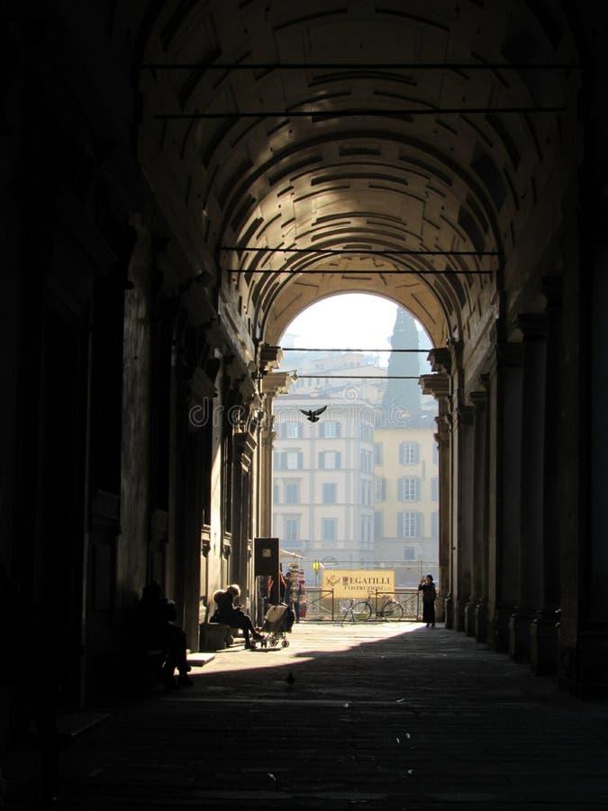 Degli Uffizi de puits photo libre de droits