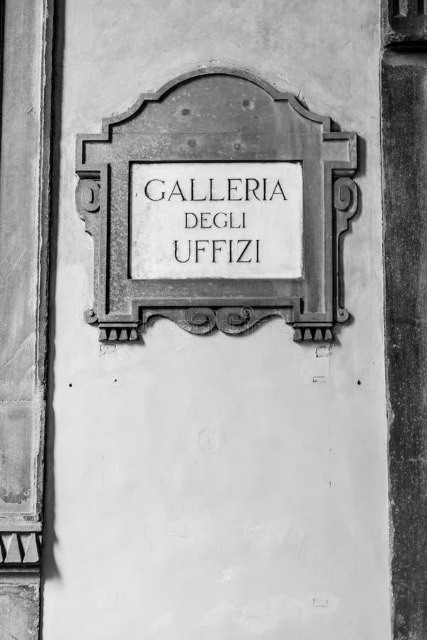 Degli Uffizi Galleria στοκ φωτογραφία