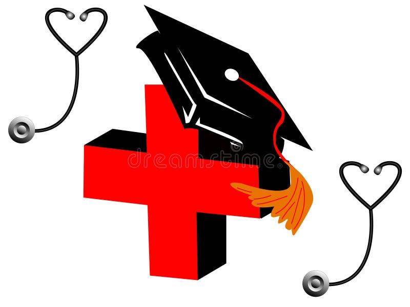 Degré médical illustration libre de droits