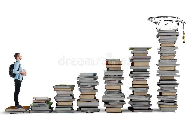 Degree course royalty free stock photos