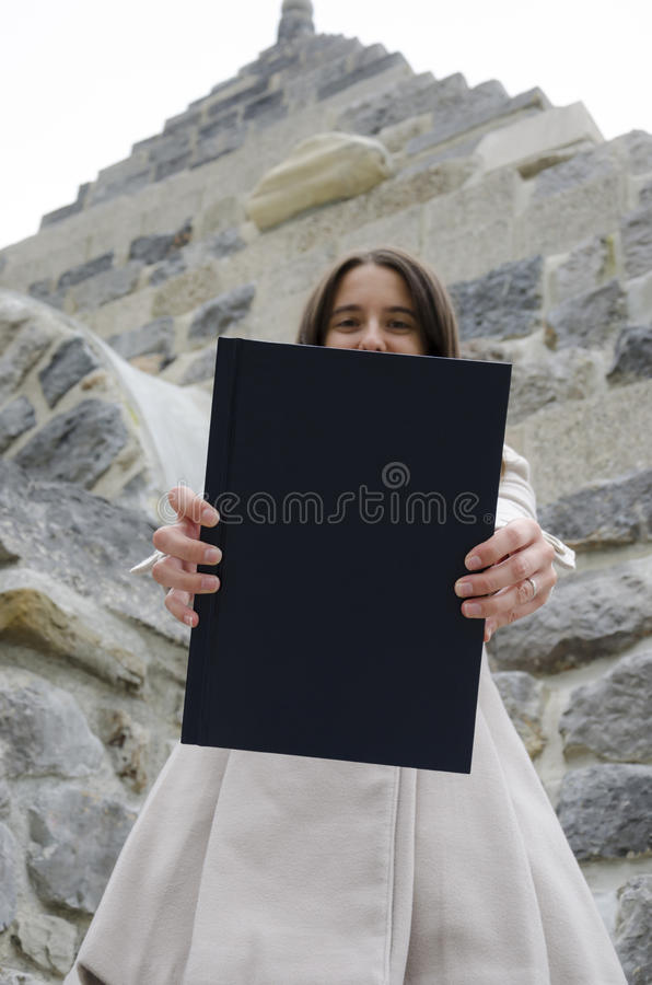 Degree dissertation stock images