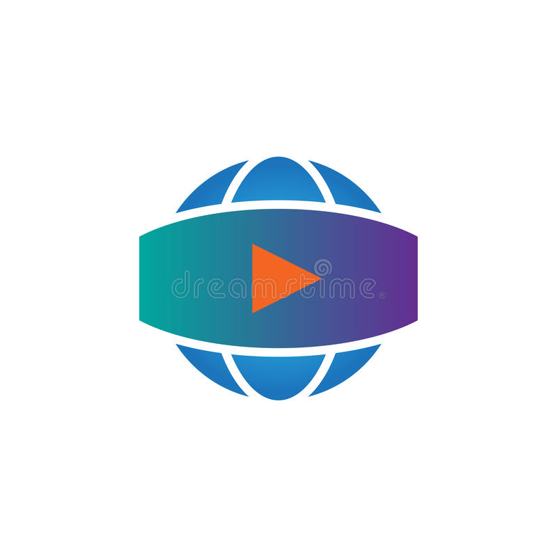360 degree panoramic video sign. vector icon, solid logo illustration, pictogram isolated on white. stock illustration