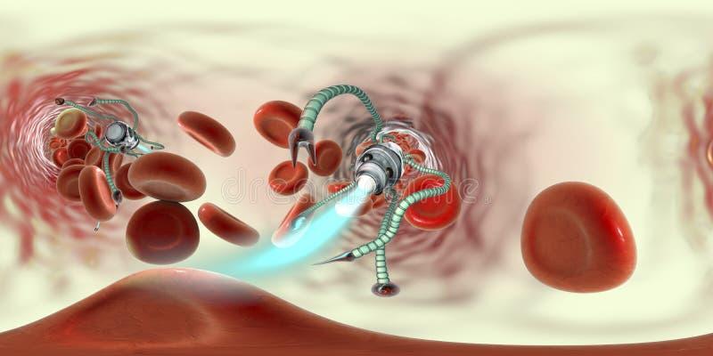 Nanobots Im Körper