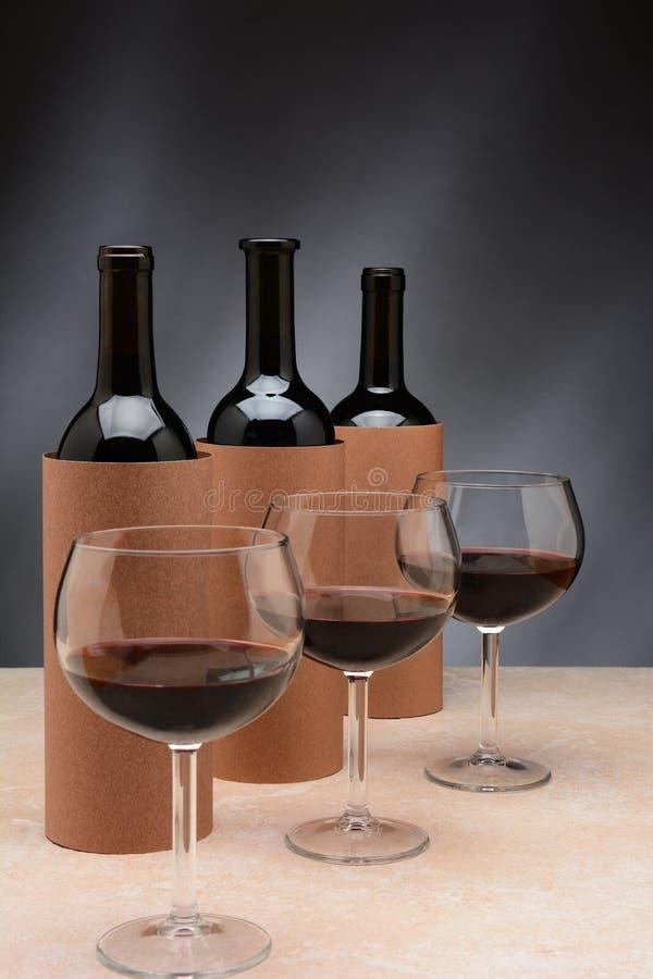 Degustación de vinos ciega imágenes de archivo libres de regalías