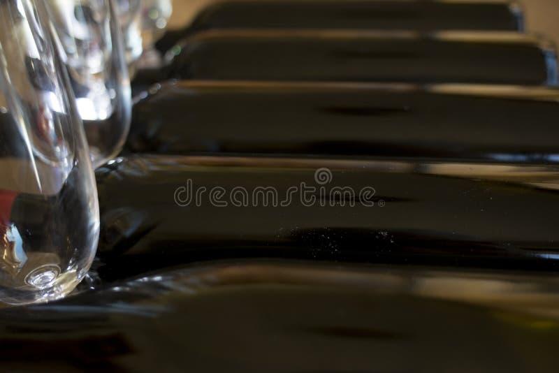 Degustation du vin rouge photo stock