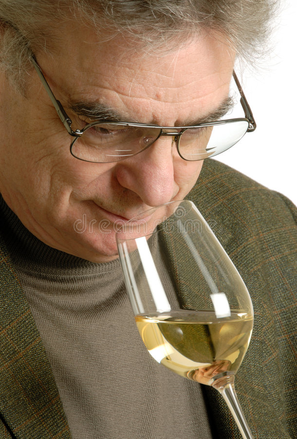 degustatora wino obrazy stock