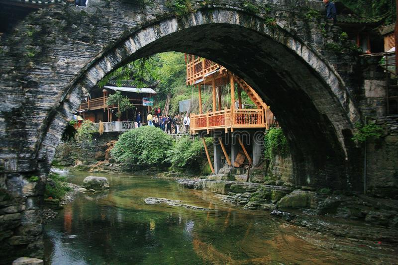 Dehang Miao Village images stock
