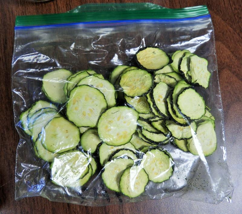 Dehydrated Zucchini In Bags Free Public Domain Cc0 Image