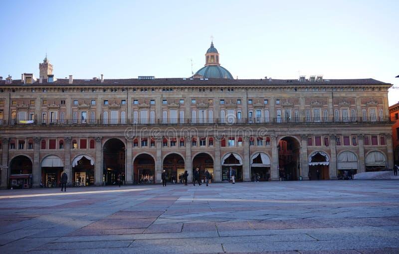 Dei Banchi Μπολόνια Palazzo στοκ φωτογραφία