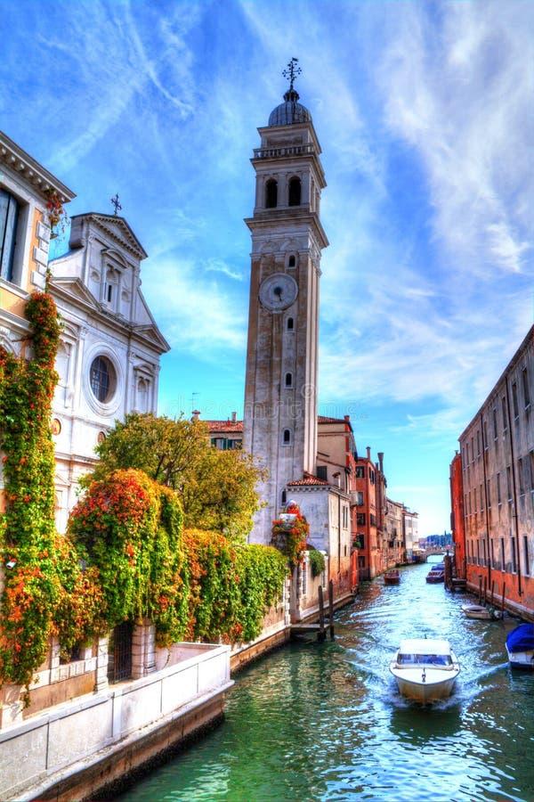 Dei Greci, Venecia, Italia de Chiesa di San Jorge foto de archivo libre de regalías