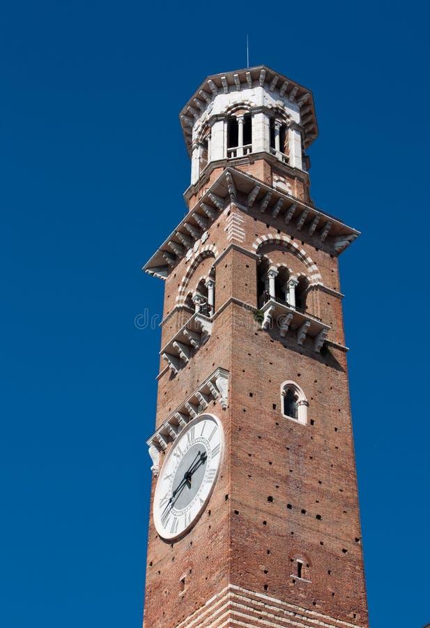 Dei Lamberti (torre de Torre de Lamberti) fotos de archivo