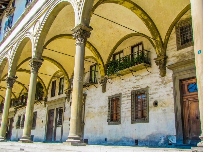 Dei Lanzi da loggia ou della Signoria da loggia em Florença, Itália imagens de stock royalty free