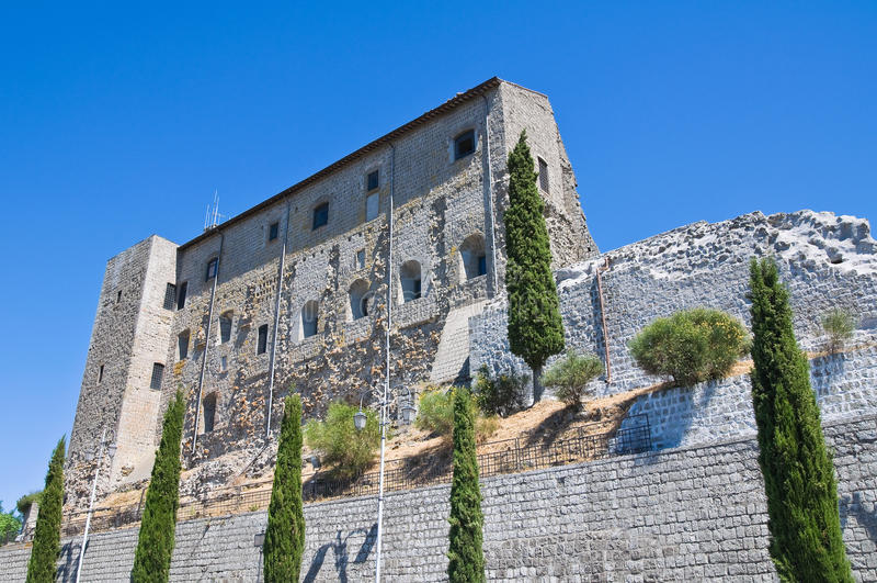 Dei Papi de Rocca. Montefiascone. Lazio. Italy. imagens de stock