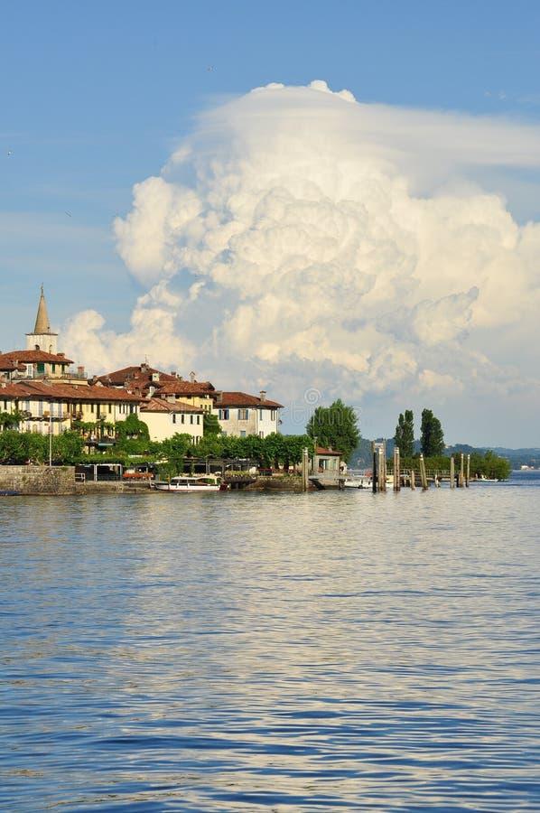 Dei Pescatori Isola, озеро (lago) Maggiore, Италия стоковые фотографии rf
