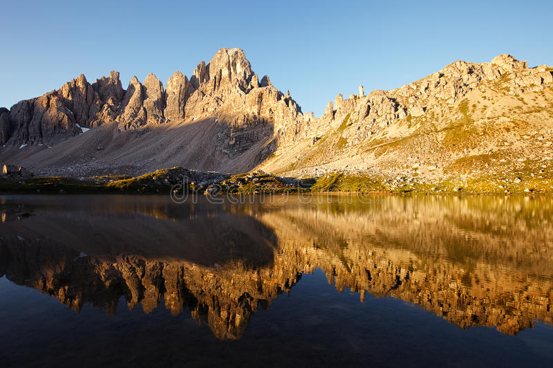Dei Piani Lago στο ηλιόλουστο πρωί στοκ φωτογραφίες με δικαίωμα ελεύθερης χρήσης