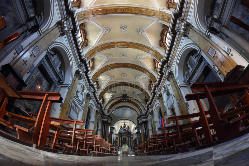 Dei Servi, Sansepolcro, Italië van Chiesadi Santa Maria stock foto