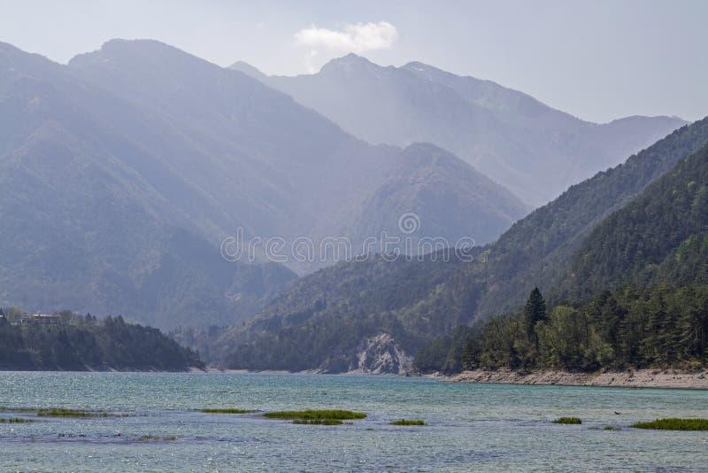 Dei Tramonti Lago σε Friuli στοκ φωτογραφία