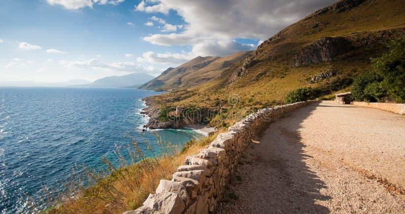 Dei Turchi - Sicília de Scala - 1 imagens de stock royalty free