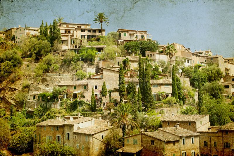 Deia, Mallorca, Baleaars eiland, Spanje royalty-vrije stock fotografie