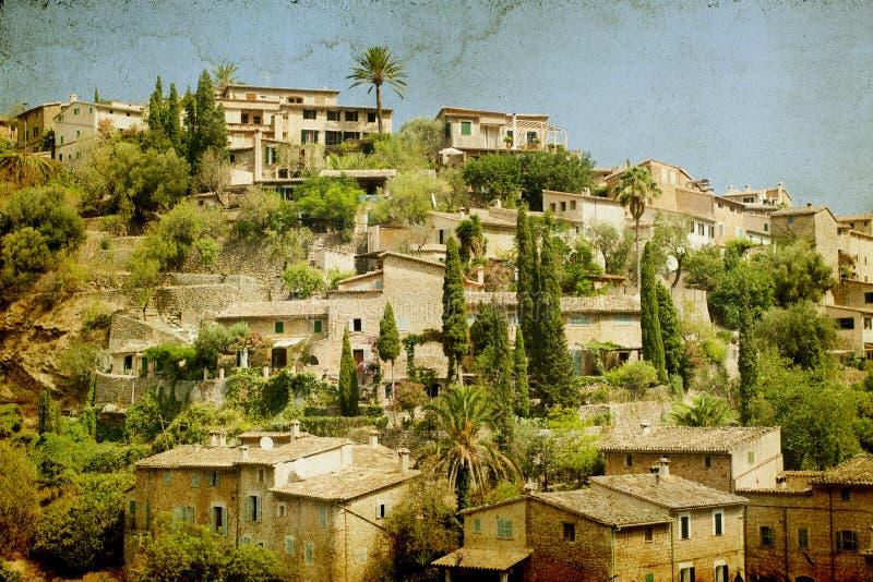Deia, Mallorca, Balearic Island, Spagna fotografia stock libera da diritti