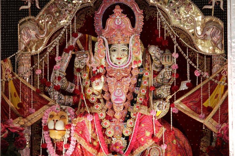 Deidad única de Hindus, adornada con hasta el final posible fotografía de archivo libre de regalías