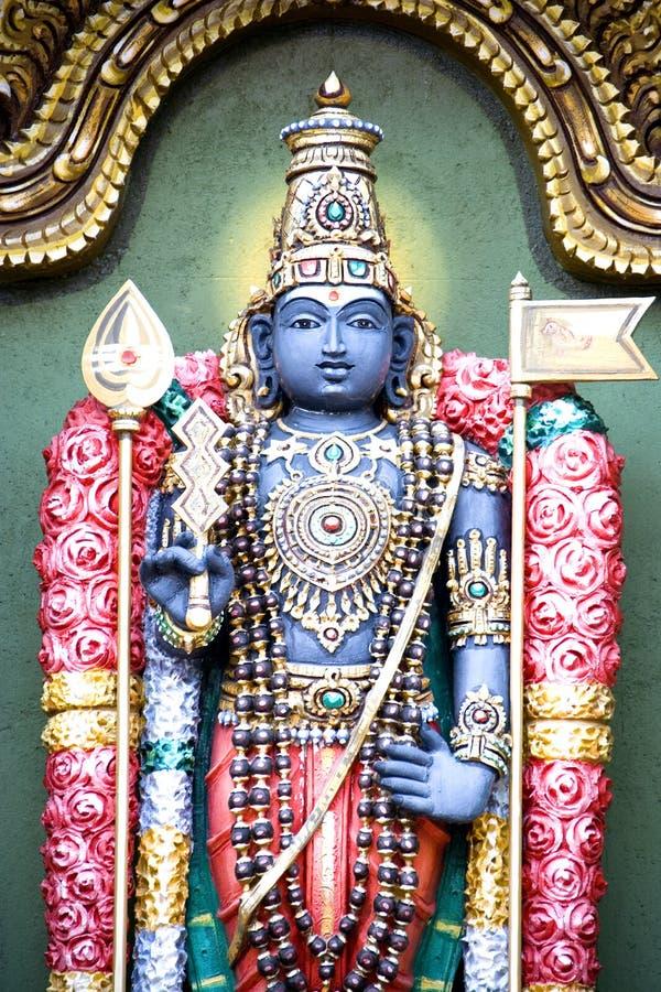 Deidad hindú foto de archivo libre de regalías