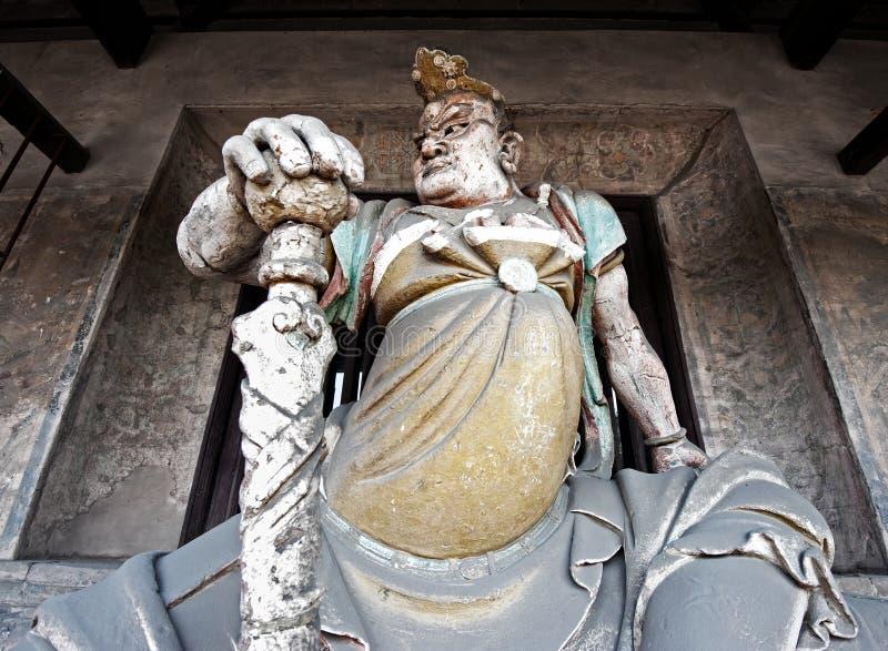 Deidade budista do protetor foto de stock