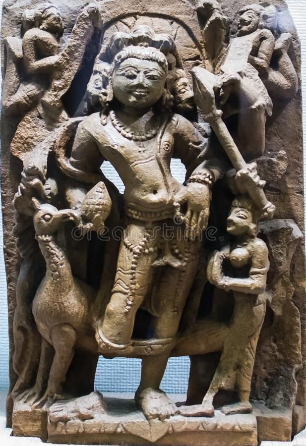 Deidade hindu de Kartikeya foto de stock royalty free