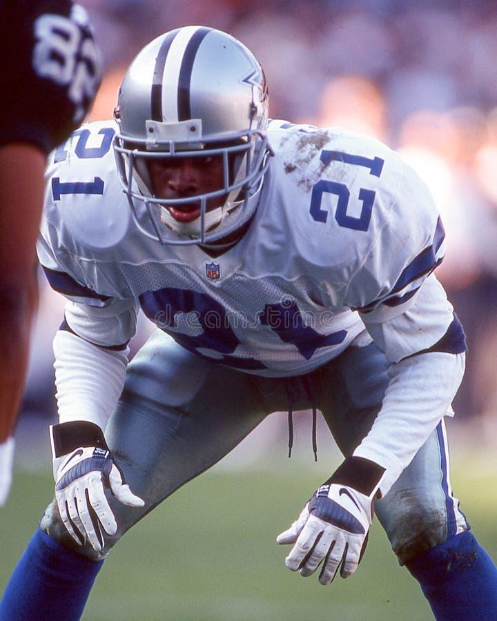 Deion Sanders Dallas Cowboys fotografie stock