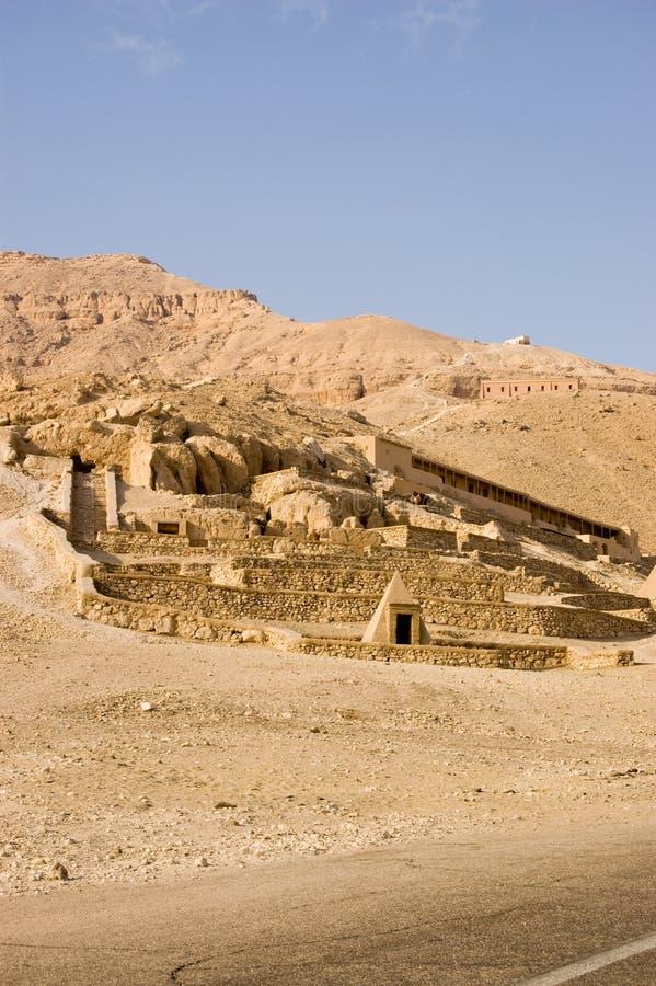 Download Deir El Medina Tombs, Luxor Stock Image - Image: 25505879
