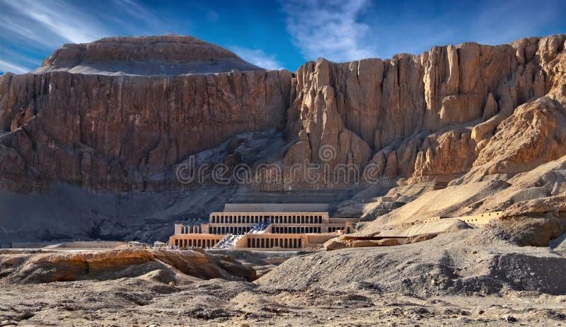 Deir Gr-Bahari royalty-vrije stock afbeelding