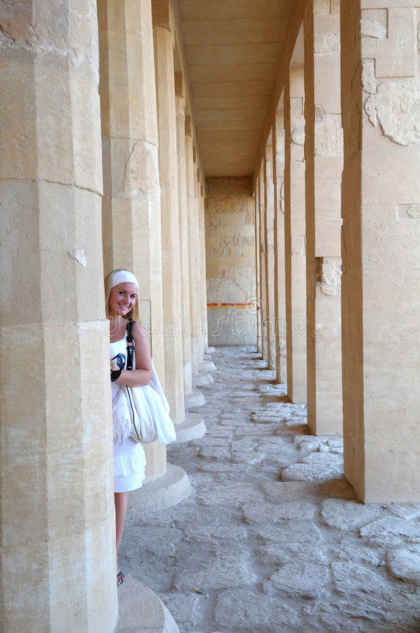 Deir Gr Bahari royalty-vrije stock foto