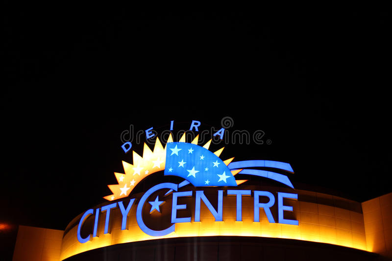 Deira City Centre in Dubai royalty free stock photos