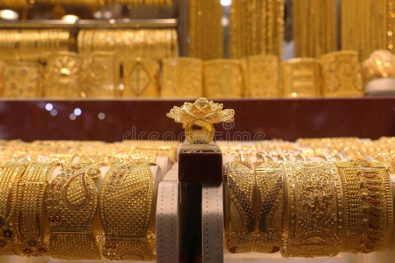 Deira Gold Souq Dubai stock image