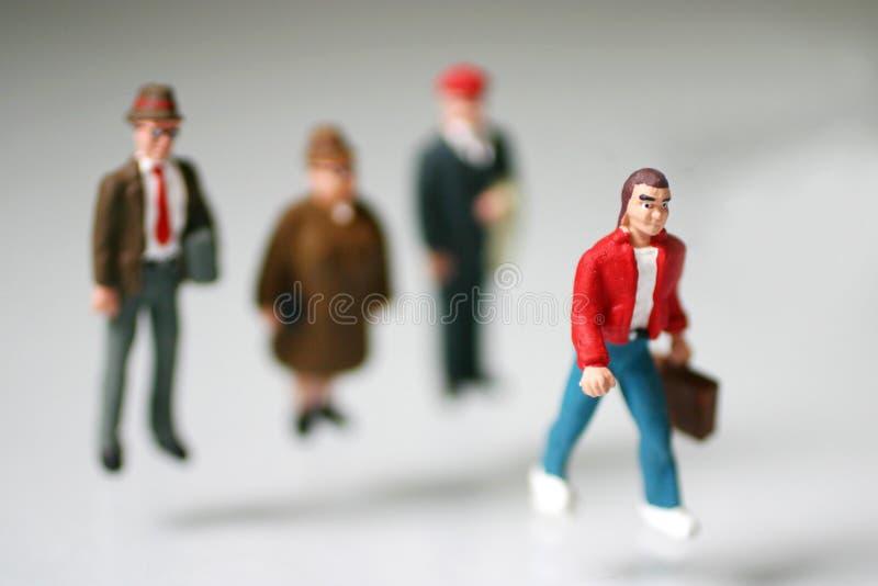 Deixando A Família Foto de Stock