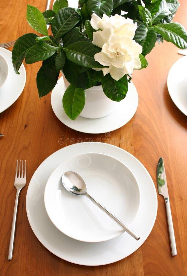 Deixe-nos comer! imagens de stock