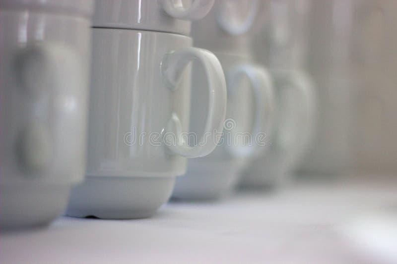 Deixe-nos comer algum café imagens de stock